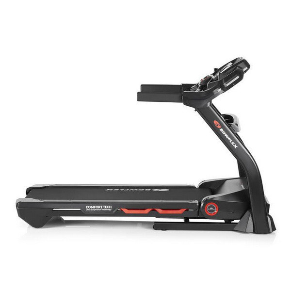 A Bowflex BXT128 futópad dőlésszöge 0-15% között léptethető.