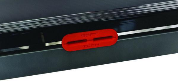 Az Everfit TFK 350 futópad Soft tech rezgéscsillapító rendszere kíméli az ízületeket, így hatékony, mégis sérülésmentes edzés végezhető a támogatásával.
