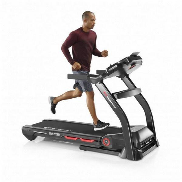 A Bowflex BXT128 futópad a kompatibilis alkalmazásokkal interaktív edzéshez is kiváló.