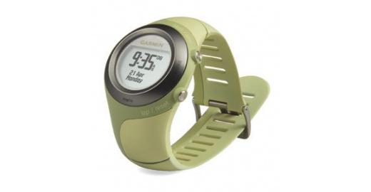Rendeljen Garmin Forerunner 405 ANT+HRM zöld pulzusmérő..