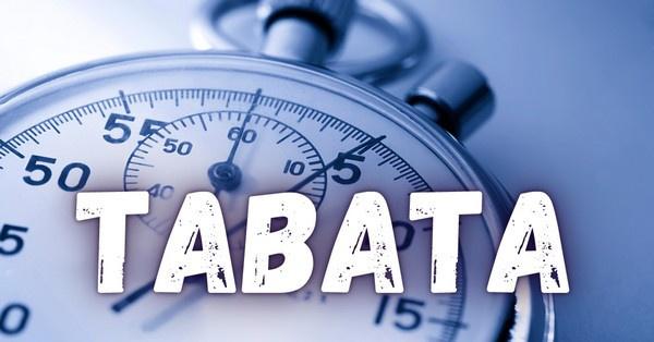 A Tabata magas intenzitású edzés, mely különböző gyakorlatsorozatok ismétléséből áll.
