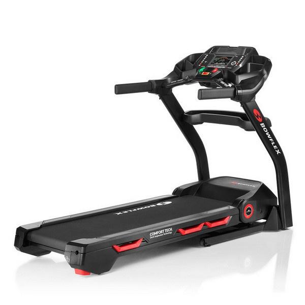 A Bowflex BXT226 futópad maximális terhelhetősége 170 kilogramm.