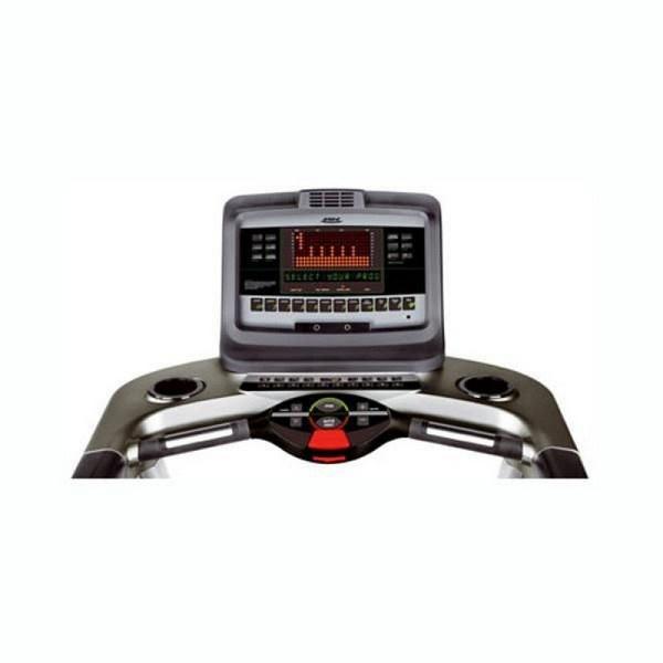 BH Fitness Magna Pro futópad kijelzője a vezérlést, valamint az eredményesebb edzést támogatja a beépített fitness teszt segítségével.
