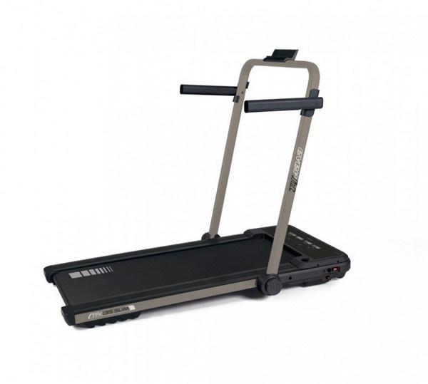 Az Everfit TFK 135 Slim Pure Bronze futógép terhelhetősége 90 kilogramm.