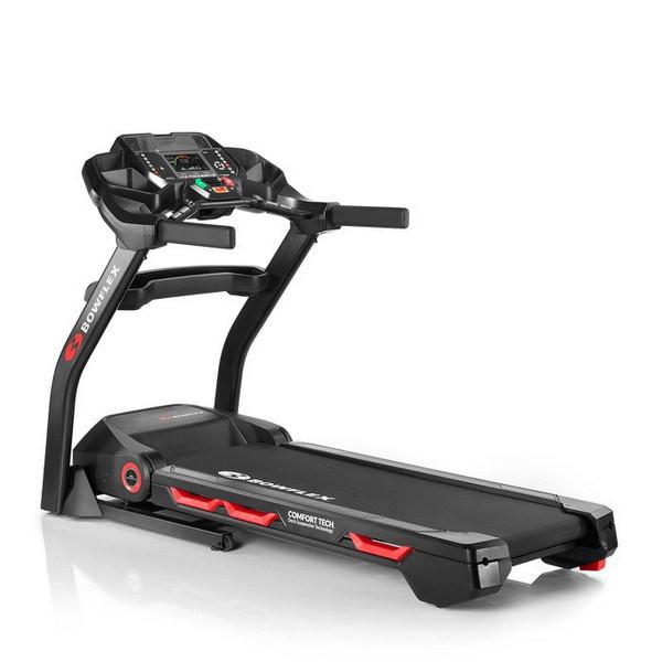 A Bowflex BXT226 futópad rezgéscsillapító rendszere az ízületeket támogatja.