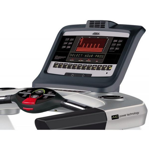 BH Fitness Magna Pro futópad konzolja számos információt nyújt  a hatékony edzés kivitelezéséhez.