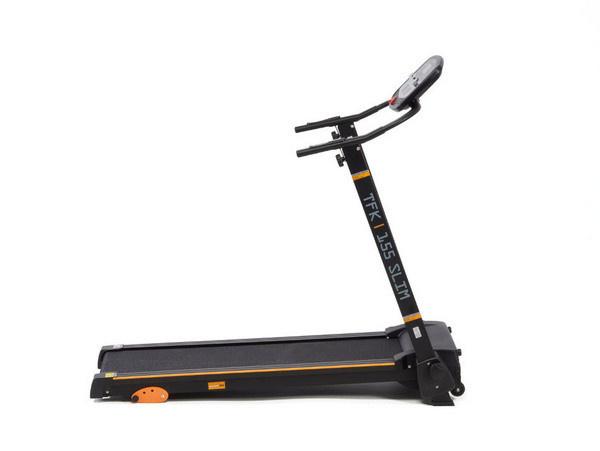 Az Everfit TFK 155 SLIM futópad kicsi, könnyű, ám stabil szerkezetű, megbízható otthoni edzőpartner.