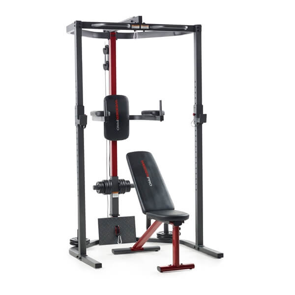 weider power rack kombinalt geppad
