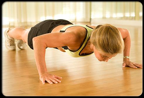Az öt leghatékonyabb gyakorlat fekvőtámasz