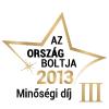 Ország Boltja - 2013 - Minőségi díj
