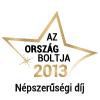 Ország Boltja - 2013 - Népszerűségi díj
